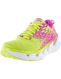 HOKA ONE ONE VANQUISH 2 JAUNE ET ROSE Chaussures de running