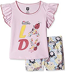 612 League Baby Girls Clothing Set (ILS17I75009-3 - 6 Months-White)