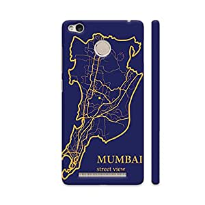 Colorpur Redmi 3S Prime Cover - Mumbai Street View Printed Back Case