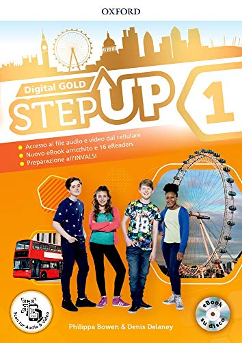 Step up gold. student's book-workbook-extra book. per la scuola media. con e-book. con espansioni online. con libro: min map [lingua inglese]: 1