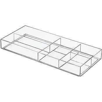 interdesign luci schubladenbox badezimmer organizer mit f nf f chern zur kosmetikaufbewahrung. Black Bedroom Furniture Sets. Home Design Ideas
