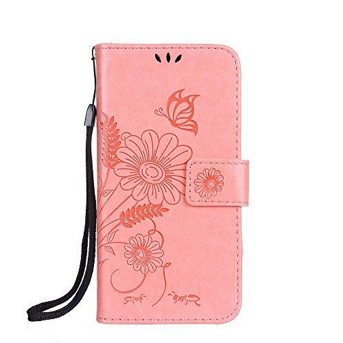 ZeWoo Folio Ledertasche - R158 / Ameisen aus (grau) - für Apple iPhone 4 4G 4S (3.5 Zoll) PU Leder Tasche Brieftasche Case Cover R161 Plum Blume