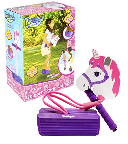 Kidoozie Foam Unicorn Pogo Jumper – Fun and Safe Play – Encourages an...