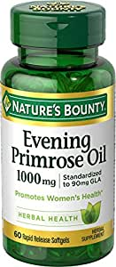 Nature's Bounty Evening Primrose Oil 1000 mg - 60 Softgels