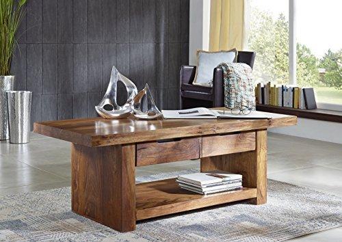 sheesham bois massif massif meuble verni Table basse 140X60 PALISSANDRE meuble bois massif Noyer DUKE #121
