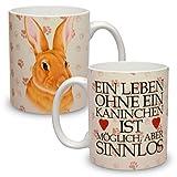Kaffeebecher mit Motiv Große XXL Tasse Kaninchen