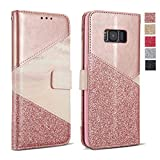 ZCDAYE Wallet Case for Samsung Galaxy A6 2018,Premium Bling