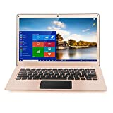 Yepo 737A Windows10 13.3 '1920 * 1080 Intel N3450 6GB + 64GB WIFI BT 0.3MP Cámaras Batería de 4800 mAh Laptop -Champagne Oro