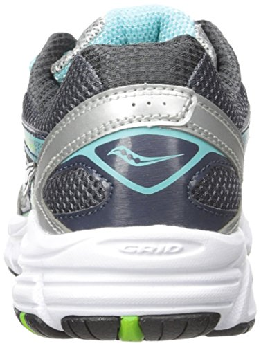 Saucony - W Cohesion 9 Grey/Blue, Scarpe sportive Donna Silver