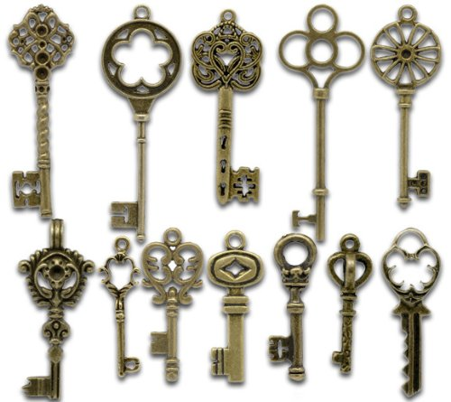142934x30-beauty-bronze-vintage-key-charms-alloy-pendants-findings