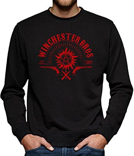 TLM Winchester V.O.L.T. Sweatshirt Pullover Herren XXXXL Schwarz (Geil O Halloween Kostüm)