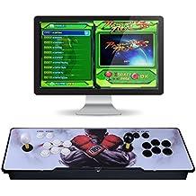 [Inglés]Consola de videojuegos, Arcade Machine 1299 juegos clásicos, 2 jugadores Pandora's Box 5S multijugador Home Arcade consola 1299 juegos todo en 1 non-Jamma PCB doble Stick nuevo diseño