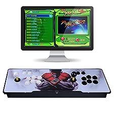 TAPDRA 0000008 Video Machine Classic, 2 Giocatori Pandora's Box 5S Multiplayer Home Arcade Console 1299 Giochi Tutto in 1 Non-Jamma PCB Doppio Stick Nuovo Design Pulsanti Potenza HDMI, Multicolore