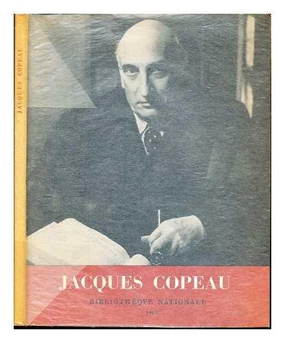 Jacques Copeau et le Vieux-Colombier.