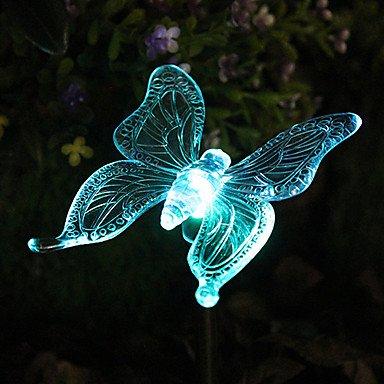 ZLJ Couleur solaire papillon jardin jeu lumi¨¨res