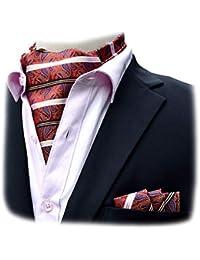 Felix   SiLK Hombre Niño Paisley Ascot Cravat Corbatas Fulares Bufanda de Cuello  Bufanda Cuadrado de 85d69fc7d7f