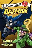 Batman Versus the Riddler (I Can Read Books: Level 2)