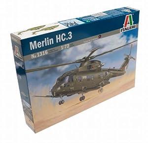 Italeri - Juguete de aeromodelismo Merlín escala 1:72 (I1316)