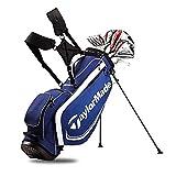 #1: Taylormade AeroBurner Black Graphite Golf Set - Right Hand - Regular Flex - 12 Clubs + Bag