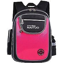 Mochila escolar para niños y niñas con compartimentos práctica para portátiles espalda y compartimentos acolchados