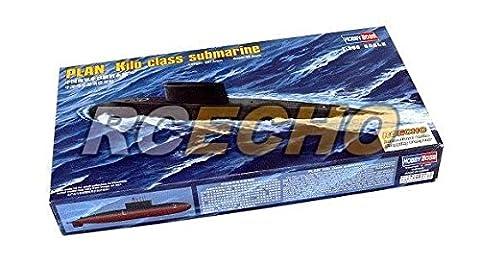 RCECHO® HOBBYBOSS Military Model 1/350 War Ship PLAN Kilo Class Submarine 83501 B3501 with RCECHO® Full Version Apps Edition