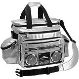 Fydelity Révolution Dj Bag 91310 Jambox black and gold- Sac avec Hauts parleurs stéréo intégré