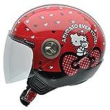 NZI Motorradhelm, Mehrfarbig (Hello Kitty), 55-56