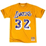 Mitchell & Ness - T-Shirt NBA Magic Johnson Los Angeles Lakers Mitchell & ness name & numbers taille - M