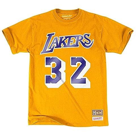 Mitchell & Ness - T-Shirt NBA Magic Johnson Los Angeles