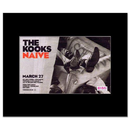 KOOKS - Nave Matted Mini Poster - 22.8x14cm