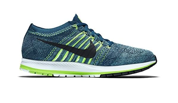 77e02d7a8b4b Nike Zoom Flyknit Streak Running Shoes Legion Blue Black Gamma Blue  Buy  Online at Low Prices in India - Amazon.in