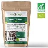 Graines de Chia Bio Supérieures - Sachet de 1kg - amOseeds