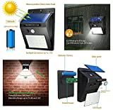 #9: ThinkValue™ Weather Resistant 20 LED Motion Sensor Solar Light - Constant Brightness Mode - Special Promotion Price