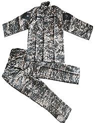 Costume tactique enfant camouflage Combat Bdu Uniforme Uniforme militaire Bdu Sports de plein air des uniformes parents-enfants Coat + Pants