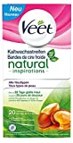 Veet Natural Inspirations Kaltwachsstreifen für alle Hauttypen, 1 Stück