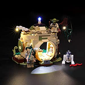 BRIKSMAX Kit di Illuminazione a LED per Lego Star Wars Rifugio di Yoda,Compatibile con Il Modello Lego 75208 Mattoncini… 0716852282234 LEGO