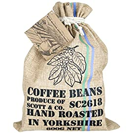 NEW Coffee Beans set – Your Coffee Set Contains 10 Different Around The World Coffees Which Are Hand Roasted In The UK. They Are Hand Stamped, Complete With Info Booklet For An Ideal Gift, Present.