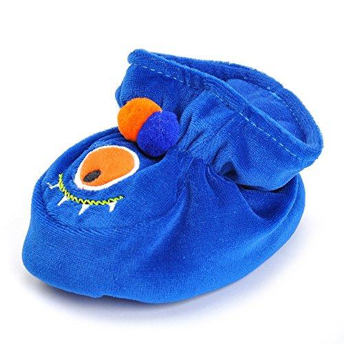ESTAMICO , Baby Mädchen Krabbelschuhe & Puschen blau blau 6-9 Monate