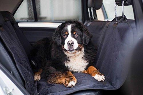 ROSENBORG Schulte Premium Hundedecke Extra Große Schondecke für die Rückbank, für Alle Autos Geeignet - Auch SUV. Top-Qualität Wasserdicht praktisch für Den Hund.