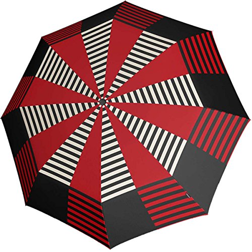knirps-paraguas-fiber-t2-duo-matic-contrast-red