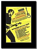 Joe Bonamassa - Win a Les Paul.....Septmber UK Dates 2013 ...Magazin Promo auf einem schwarzen Berg