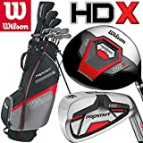 Wilson Prostaff HDX Mens Complete Steel Shafted Irons & Graphite Shafted Woods Golf