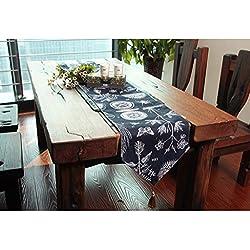 TABLE RUNNER Pride S Mesa de Centro Moderna Mesa de Comedor Mesa de Lujo (Tamaño : 30 * 220cm)
