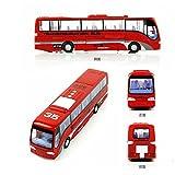 elegantstunning Bambini Robot in Lega Auto deformazione Bus Auto Modelli trasformazione Robot Giocattoli per Bambini Halloween Borse per Bambini Red