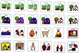 Visual Weekly Planner AAC (Picture Communication Symbols)