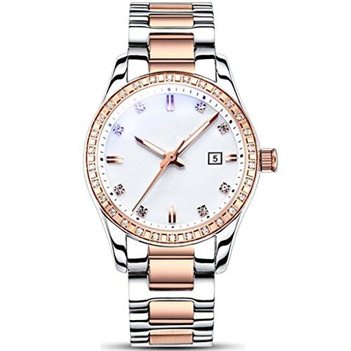 william 337 women's watch women's mechanical watch fashion trend waterproof diamond 2018 new women's watch