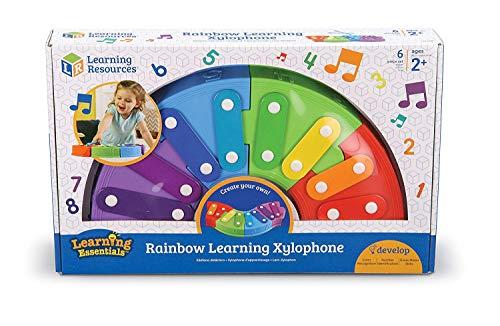 Xylophone d'apprentissage arc-en-ciel de Learning Resources