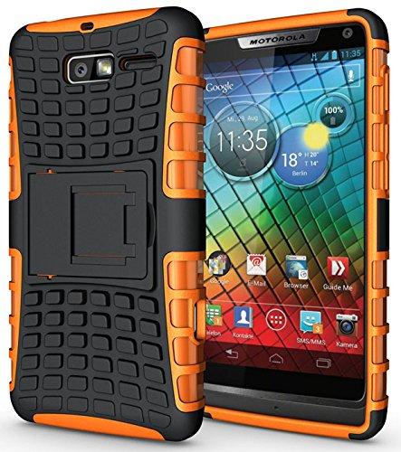 Heartly Armor Motorola Droid Razr M Orange