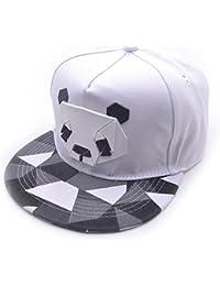 Topgrowth Cappello Baseball Donna Uomo Sport Panda cap Snapback Golf  Cappello Hip-Hop (Bianca dfe670dbe2d8