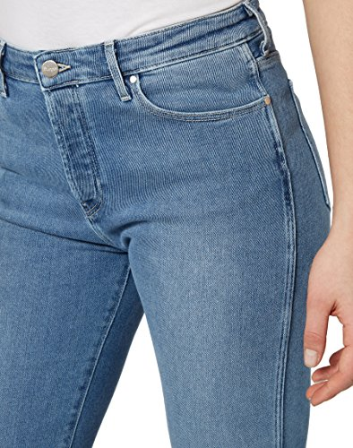Wrangler Damen Jeans Cropped Straight Blau (Blue Jean Baby 5Y)